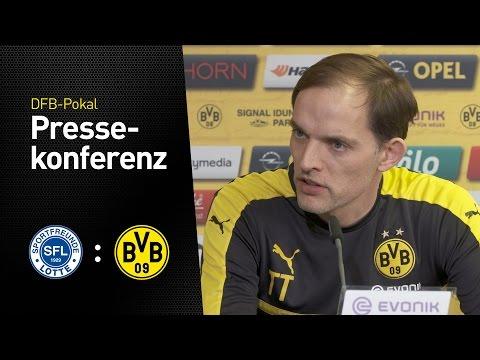 PK Thomas Tuchel: Ein hartes Stück Arbeit | Sportfreunde Lotte - BVB