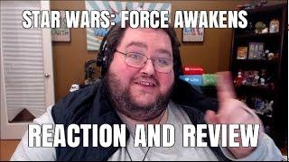 Star Wars: Force Awakens Reaction (SPOILERS!!)