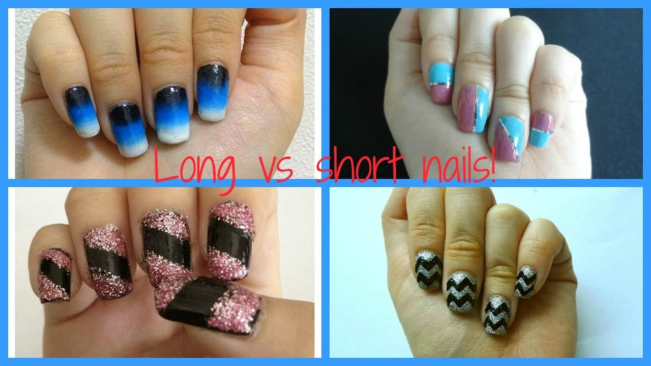 Different types of nail designs for long and short nails ...