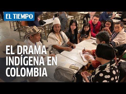 El drama indígena en Colombia