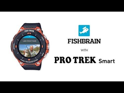 CASIO PRO TREK SMART With Fishbrain