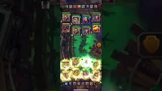 Сносим Тёмных Рыцарей 150 шт (вторая неделя игры на новом сервере)