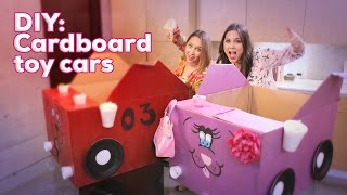 Diy For Kids: Cardboard Car