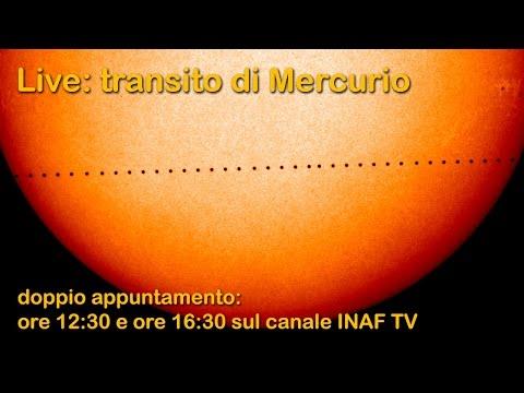 Live: transito di Mercurio - prima parte