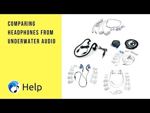 Comparing the Waterproof Headphones of Underwater Audio