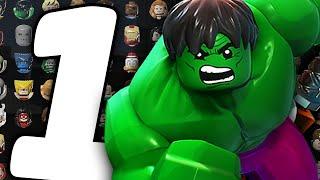все Персонажи - LEGO Marvel Super Heroes - Часть 1