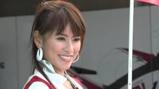 2012スーパーバイクレース IN岡山国際サーキット 「小林まき」ち...