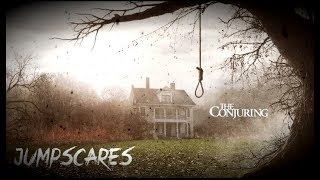 The Conjuring(movie)~ jump scares !!!