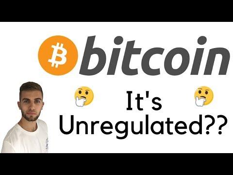 Bitcoin Is Unregulated?   Bitcoin Regulates Itself!