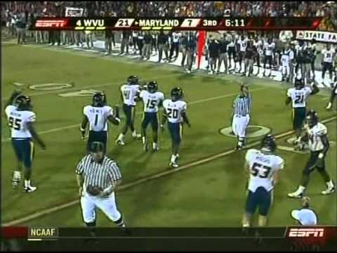 2007 CFB - #4 WVU vs Maryland - 3rd Quarter