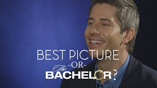 'The Bachelor' or Best Picture: Arie Plays Our Oscar-Themed Quiz (Watch)