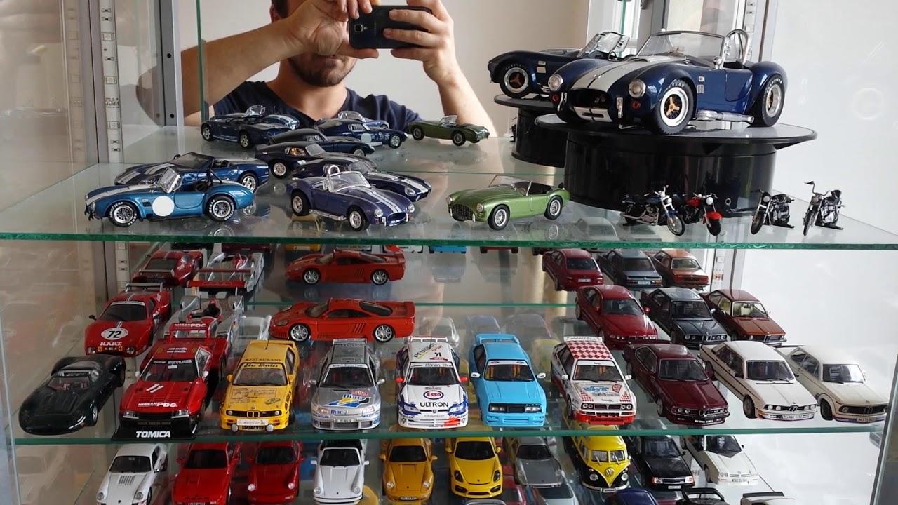 Ma vitrine de voitures miniatures au 1:43. - YouTube
