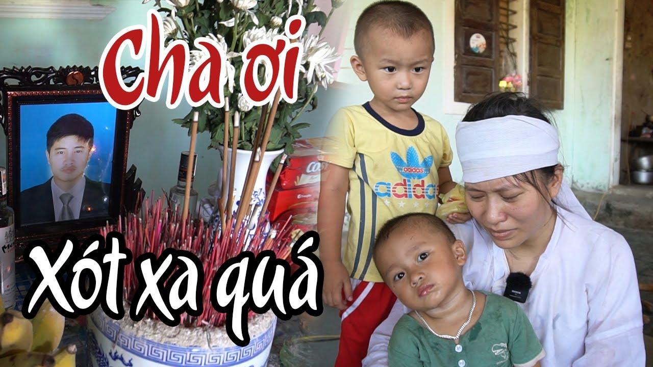 🔴Nỗi đau tận cùng của 2 đứa trẻ thơ dại và người vợ nghèo của anh thợ hồ bị tai nạn tử vong