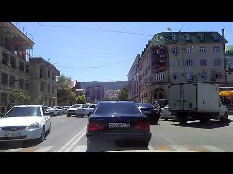 Ул. Дахадаева | главные улицы Махачкалы, июнь 2018, Дагестан