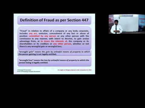 Companies Act 2013 Session 3