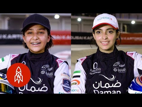 Go-Kart Racing With the Emirati Speed Sisters