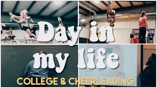 LIFE OF A COLLEGE STUDENT AND COMPETITIVE CHEERLEADER   UNC CHARLOTTE & IMPACT ONE