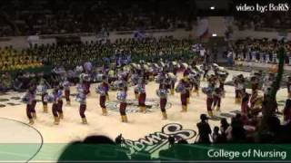 College of Nursing - USLS Cheering Competition 2009
