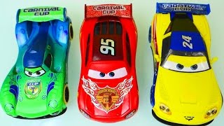 3 Cars McQueen Gorvette Veloso