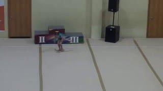 Спортивная гимнастика вольные 2 юнешеский Сайко Виолетта
