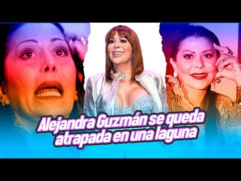 Alejandra Guzmán se queda atrapada en una laguna