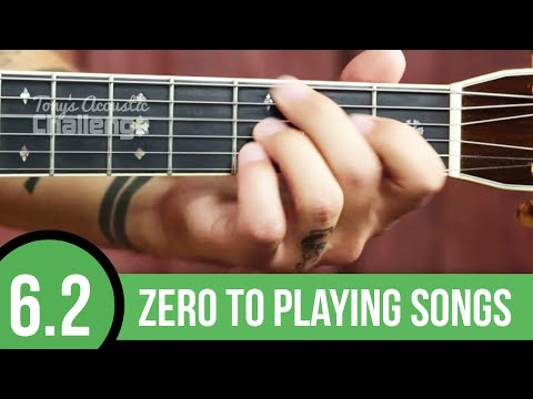 Beginner Guitar ➜ How to Change Chords ➜ C, F, and G (6.2)