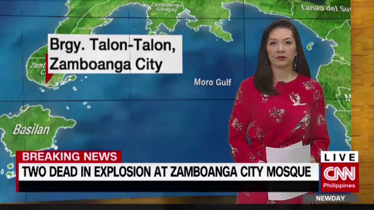 Breaking News: Two dead in explosion at Zamboanga City mosque