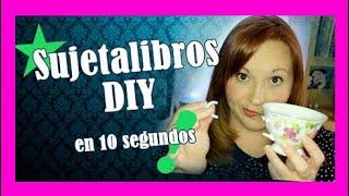 DIY sujetalibros invisible en 10 segundos