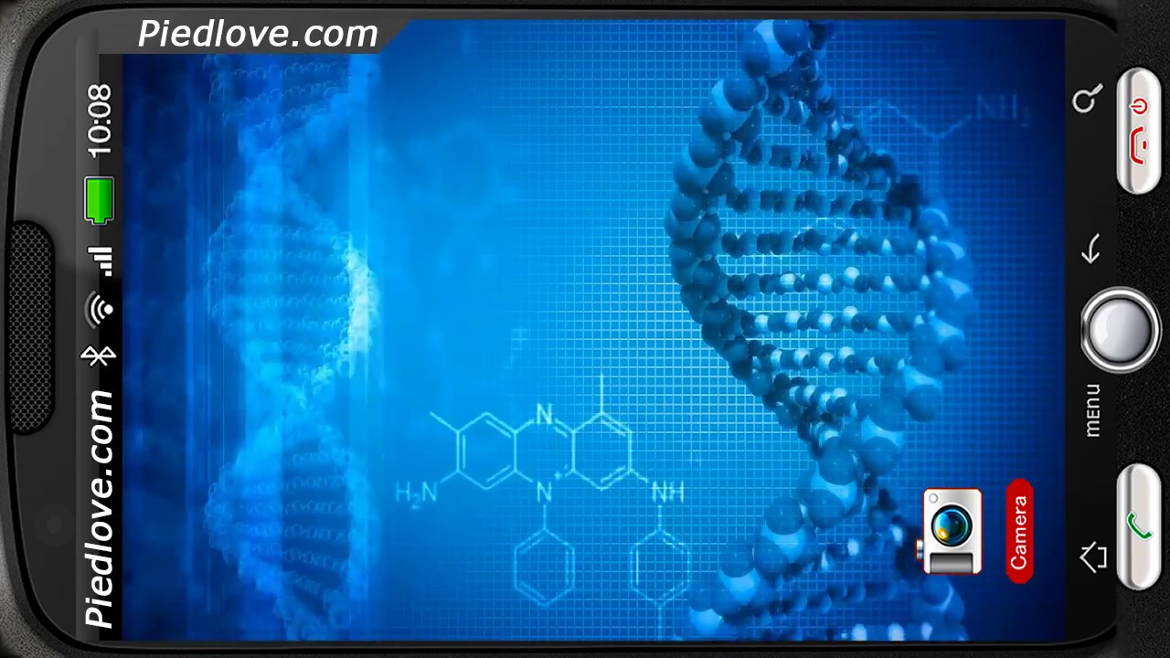 Home 3d 3d dna virus hd wallpaper - Enigmatic Dna Spinning Strings Deluxe 3d Personalization For Android Piedlove Youtube