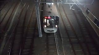 都営浅草線5300形5320編成へッドマーク付き馬込研修区出庫