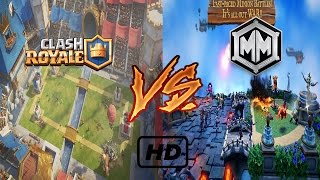 Minion Masters vs Clash royale /Clash royale with better graphics and PC /