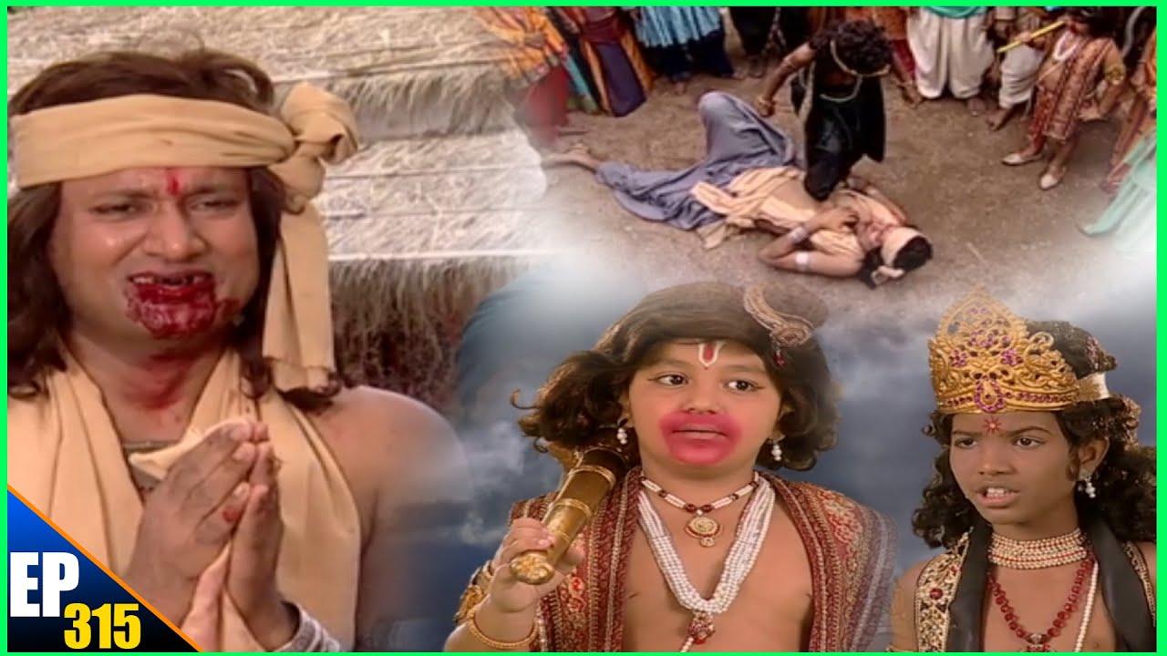 सूर्य पुत्र शनि ने राक्षस को जान से मरने पर मारुती ने  रोका - Jai Jai Jai Bajrangbali episode 315
