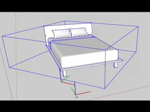 SketchUp: Relocate Component Axes