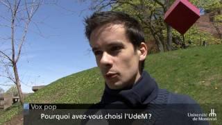 Vox pop : pourquoi les étudiants étrangers choisissent-ils l'UdeM?