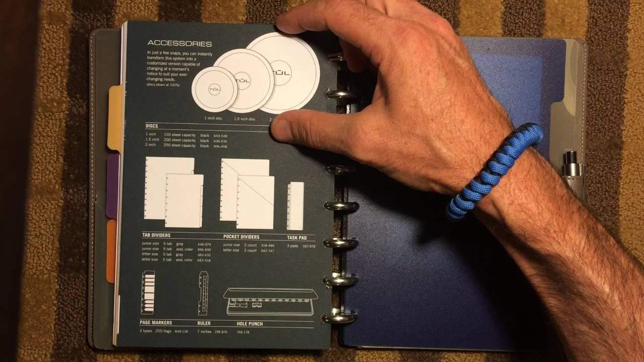 graphic regarding Discbound Planner Printables titled Arc Levenger TUL Disc Certain planner