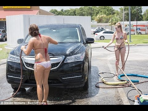 Cool hand luke girl washing car