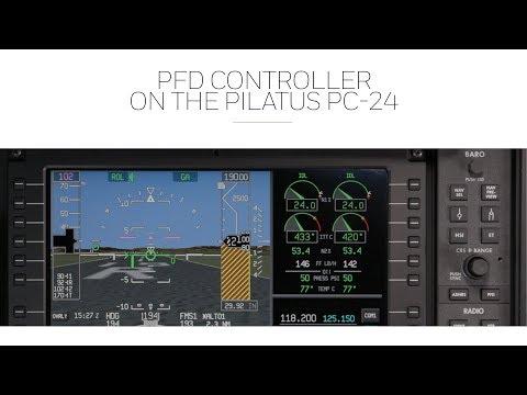 PFD Controller on the Pilatus PC-24