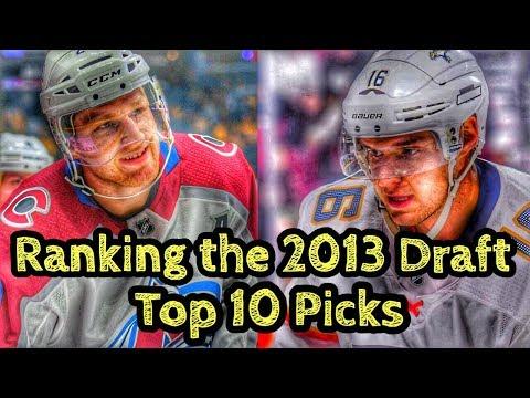 Ranking The 2013 NHL Draft Top 10 Picks