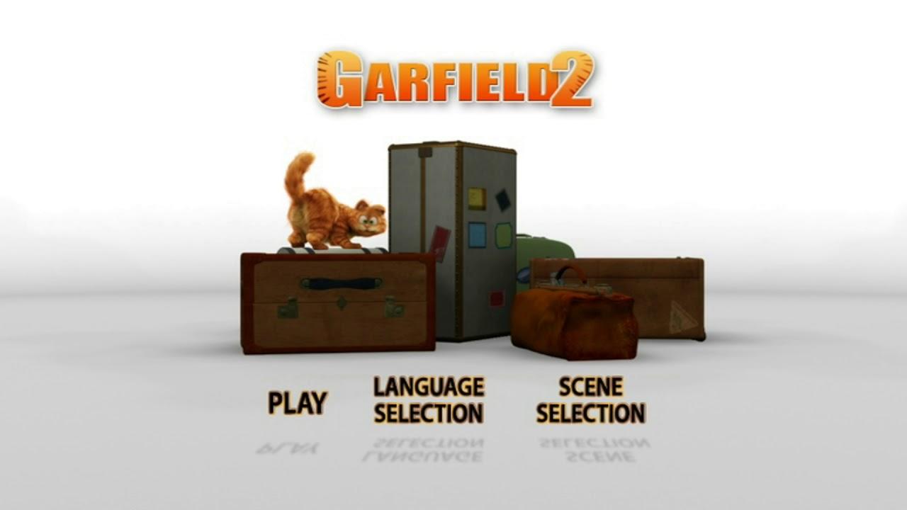 Garfield 2 Dvd Menu Youtube