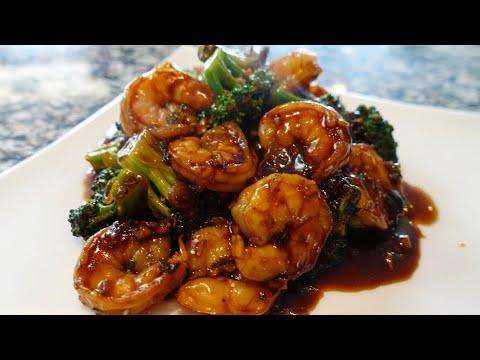 Amazing Shrimp And Broccoli In Garlic Sauce ����