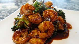 Amazing Shrimp And Broccoli In Garlic Sauce