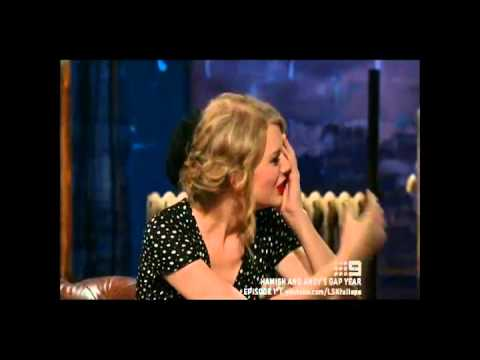 Taylor Swift Interview 2011 - Hamish and Andys Gap Year