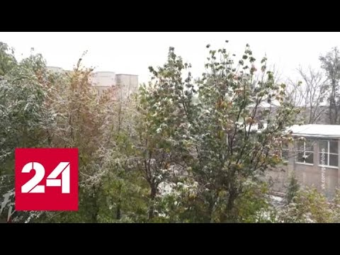 """""""Погода 24"""": репетиция зимы в Европейской части России - Россия 24"""