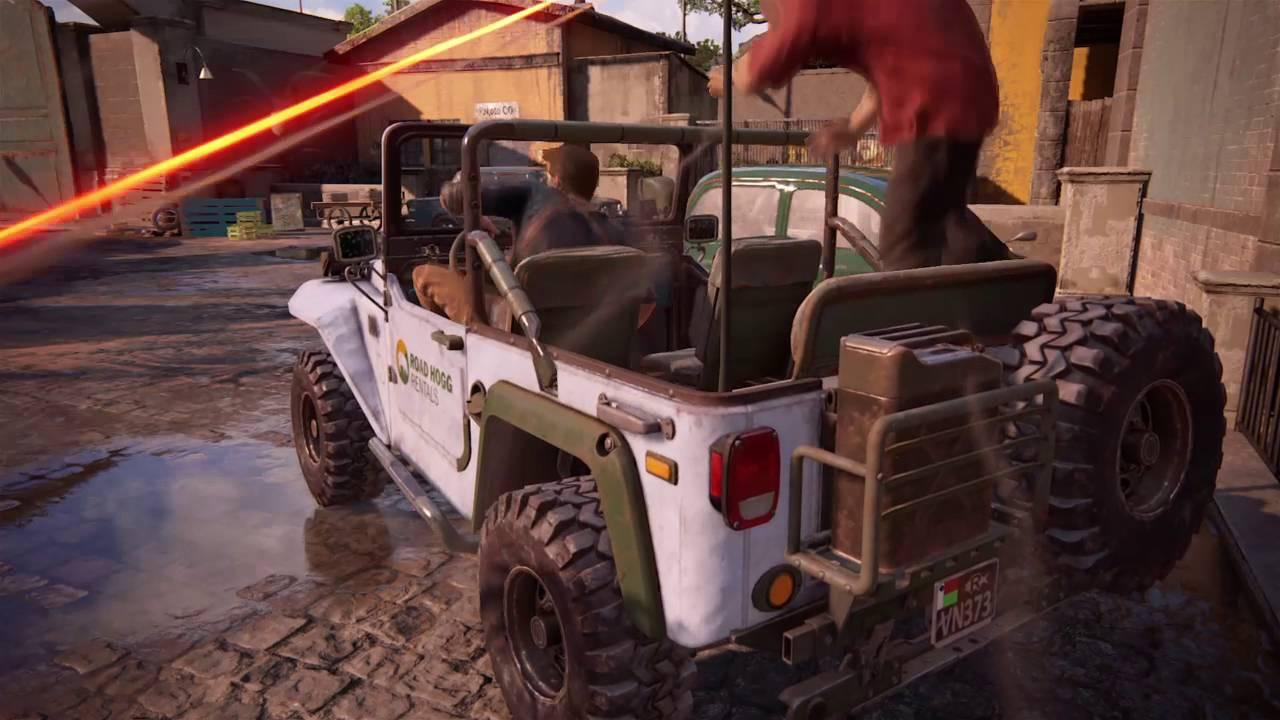 Uncharted™ 4: A Thief's End Part 39 Der Panzerwagen