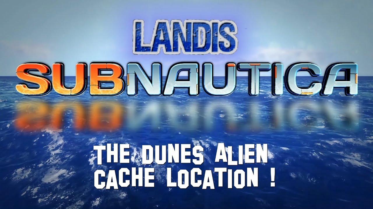 The Dunes Alien Cache Location ! - Subnautica Guides ZP