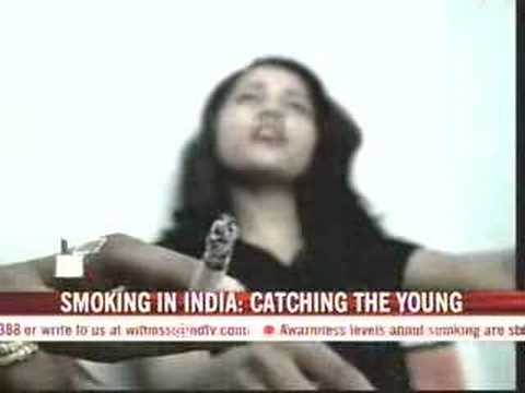 Smoking is cool, say youngsters in India