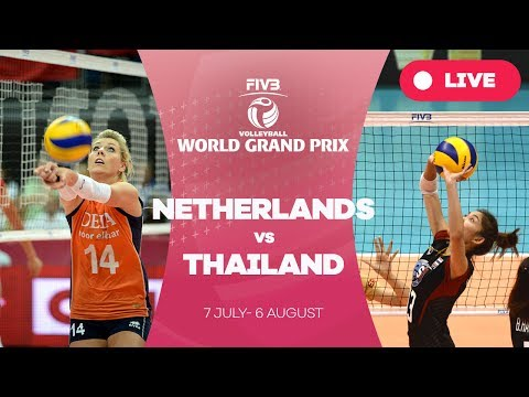 Netherlands v Thailand - Group 1: 2017 FIVB Volleyball World Grand Prix