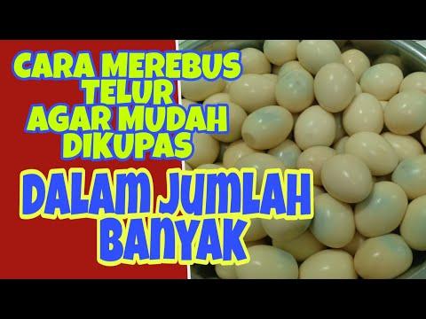 CARA MEREBUS TELUR AGAR GAMPANG DIKUPAS // DALAM JUMLAH BANYAK