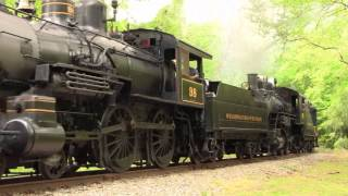 Wilmington and Western Railroad: Pufferbelly Days 2012