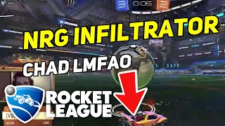 Daily Rocket League Plays: NRG INFILTRATOR CHAD LMFAO